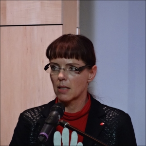 Angelika Wagner, DGB-Chefin in Duisburg. Foto: Petra Grünendahl.