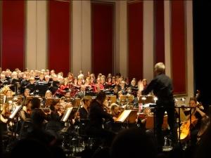 Festkonzert der Universität Duisburg-Essen mit Dirigent Hermann Kruse. Foto: Petra Grünendahl.