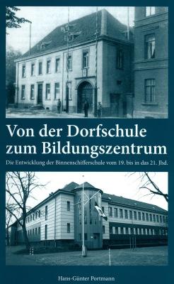Das Titelbild zeigt die Stromschifferschule im alten Ruhrorter Rathaus um 1900 (oben) und das heutige Gebäude des Schiffer-Berufkollegs RHEIN am Bürgermeister-Wendel-Platz in Homberg, wo die Schule seit 1989 ansässig ist. © AWD Druck + Verlag GmbH, Alsdorf.